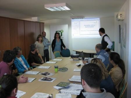 Participantes en la sesión.