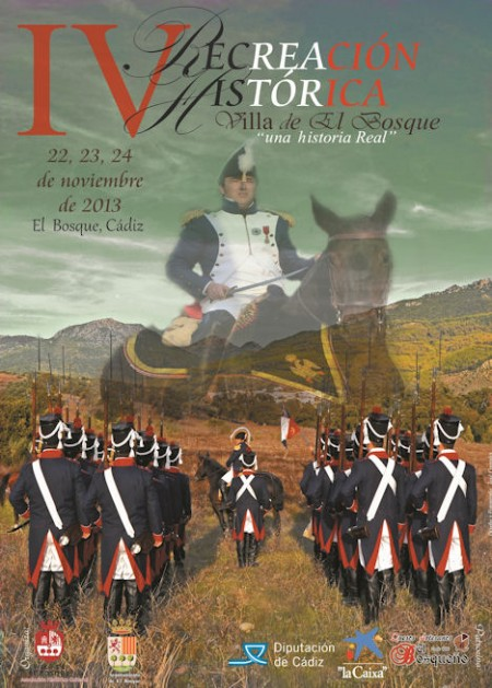 Cartel de la IV Recreación Histórica Villa de El Bosque.