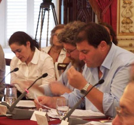 El portavoz de IU en la Diputación de Cádiz, Pedro Romero.