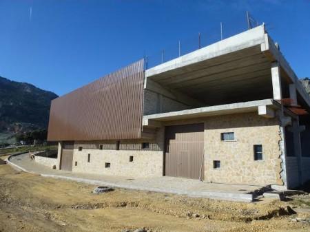Edificio del parque industrial de Grazalema.
