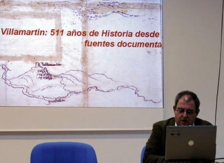 José María Gutiérrez, durante su conferencia.