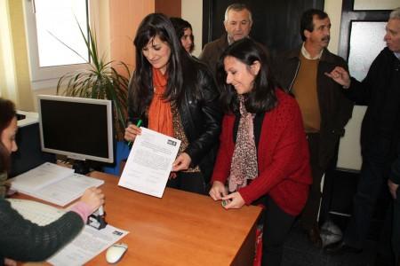 Presentación de la renuncia de las alcaldesas de El Gastor y Grazalema a las vicepresidencias de la Mancomunidad de la Sierra.