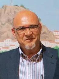 El coordinador local de IU y alcalde de Olvera, José Luis del Río.