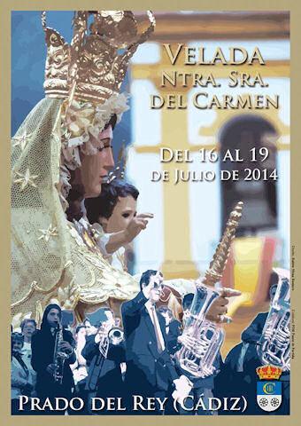 Cartel de la Velada de Prado del Rey.