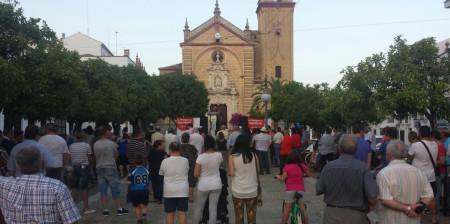Asistentes a la presentación de la candidatura de Tomás Torralba (IU).
