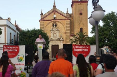 Intervención del alcalde de Espera, Pedro Romero, en la presentación de la candidatura de IU en Algodonales.