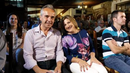 Irene García y Alfonso Moscoso.