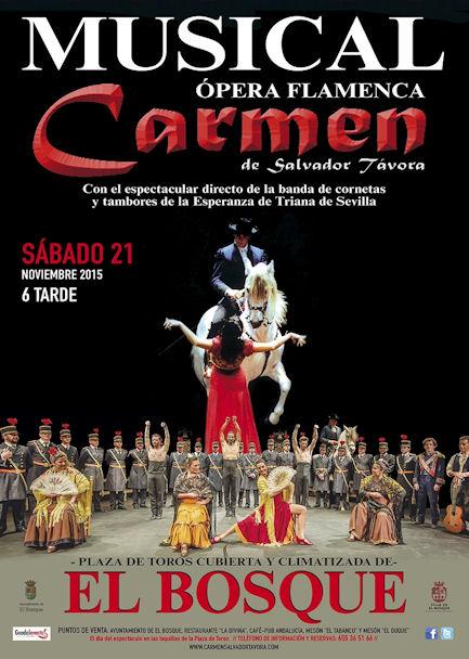 Cartel de la ópera flamenca.