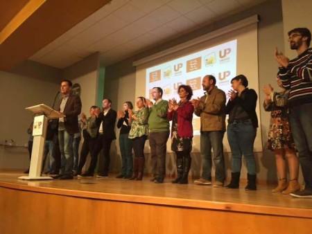 Candidatos gaditanos de Unidad Popular Izquierda Unida.