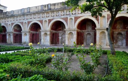 Logia del Palacio de los Ribera de Bornos.