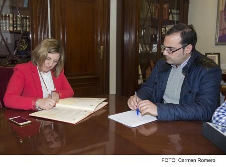 Irene García y Hugo Palomares.