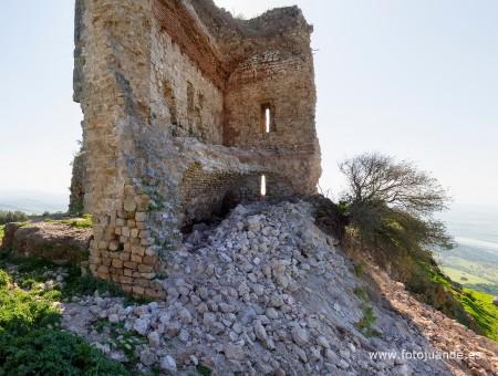 Derrumbe del castillo de Matrera (FotoJuande).
