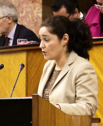 Inmaculada Nieto, parlamentaria de IU.