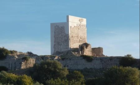 La torre del homenaje, tras la restauración (Foto: Hispania Nostra).