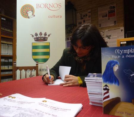 Firma de libros.