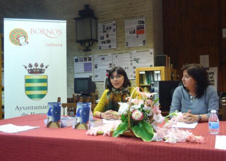 Natalia Viaga, durante su intervención.
