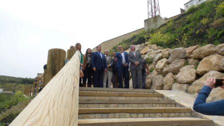 Inauguración del paseo fluvial.
