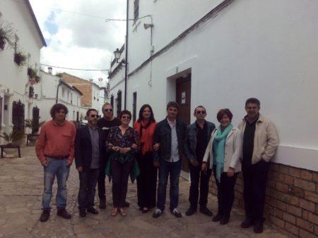 La directora y colaboradores de CaoCultura.