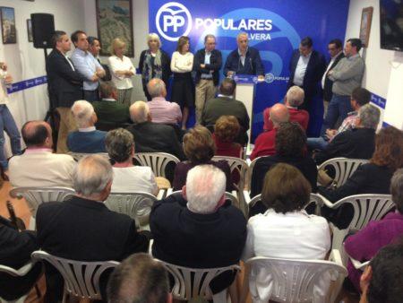 Intervención de Javier Arenas.