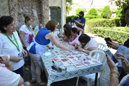 Participantes en uno de los talleres.