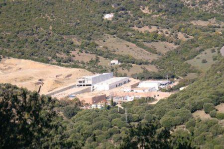 Polígono industrial en construcción.