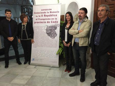 Presentación del Aula de Memoria de la Diputación de Cádiz en Arcos.