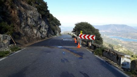 LA carretera, expedita.