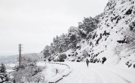 Nieve en Grazalema (Foto: Francisco  Moreno).