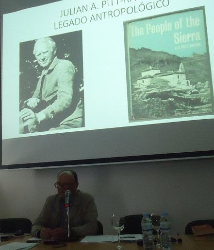 Ponencia de Manuel Barea sobre Pitt-Rivers.