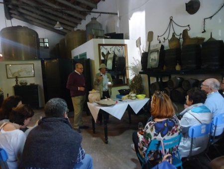 Ponencia de Salvador Rivero, en Bodegas Rivero.