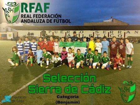 Selección de la Sierra de Cádiz de fútbol benjamín.