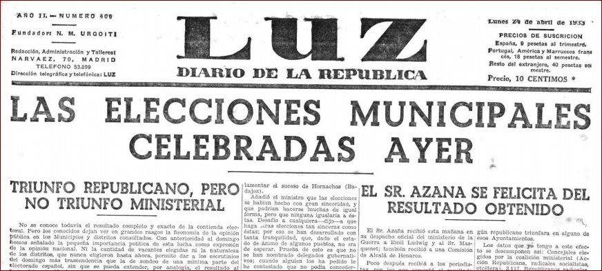 Las mujeres de Torre Alháquime y Castellar, las primeras gaditanas que ejercieron su derecho al voto, en las elecciones locales parciales de 1933