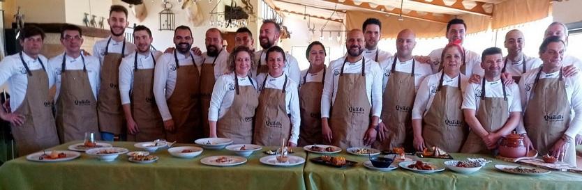 Participantes en el certamen culinario.