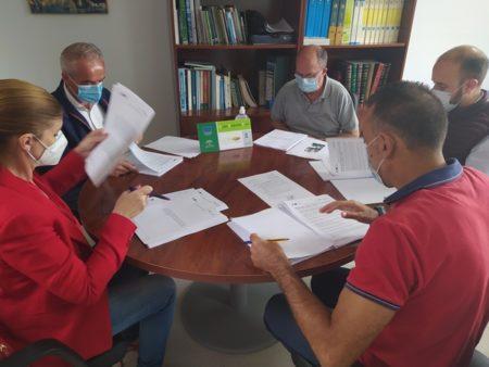 Reunión de la junta directiva.