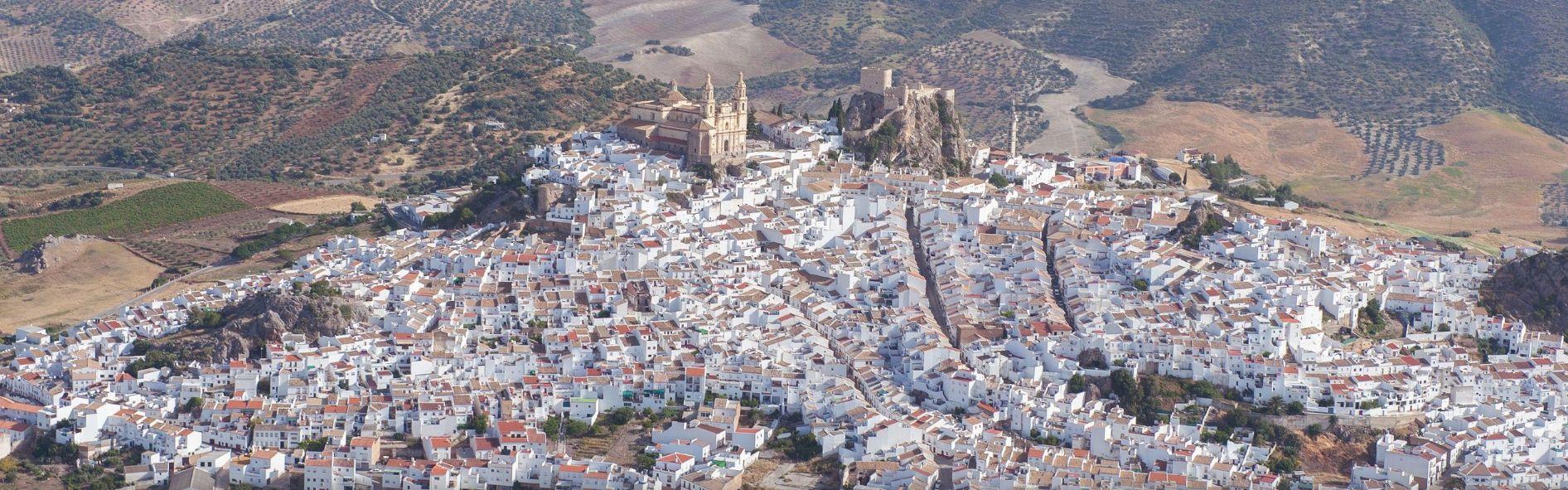 Olvera, uno de los municipios con cierre perimetral (Foto. web municipal).