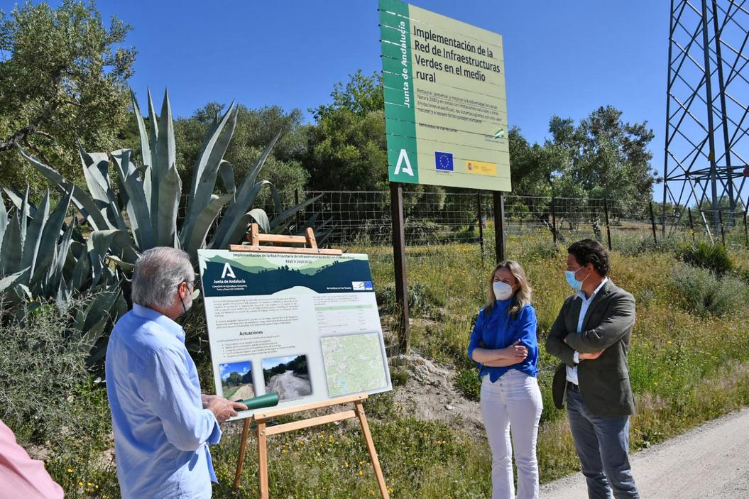 Obras de conservación en vías pecuarias en Prado del Rey