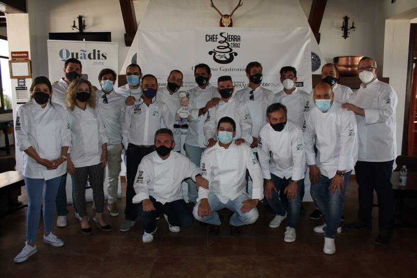 Cocineros participantes.