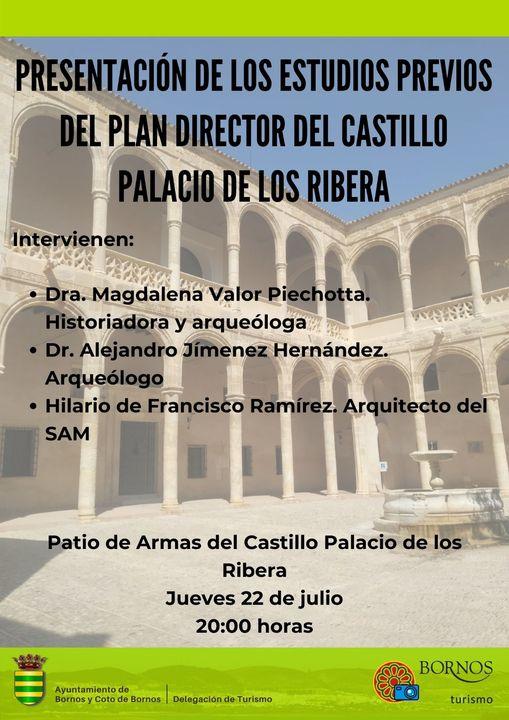 Estudios previos del plan director del Castillo Palacio de los Ribera de Bornos